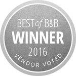 Wedding Catering Award 2016, best of b&b
